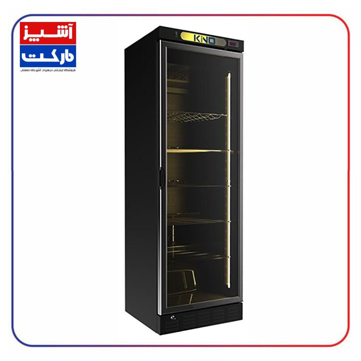 یخچال فروشگاهی کینو کافی شاپی 60 سانت KINO KR 615 WL-1D