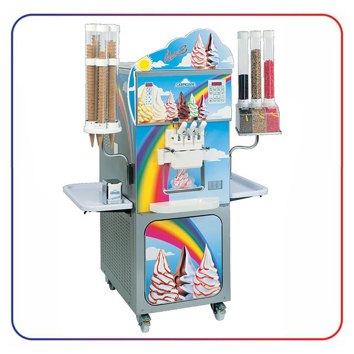 دستگاه بستنی ساز کارپیجیانی CARPIGIANI RAINBOW 3