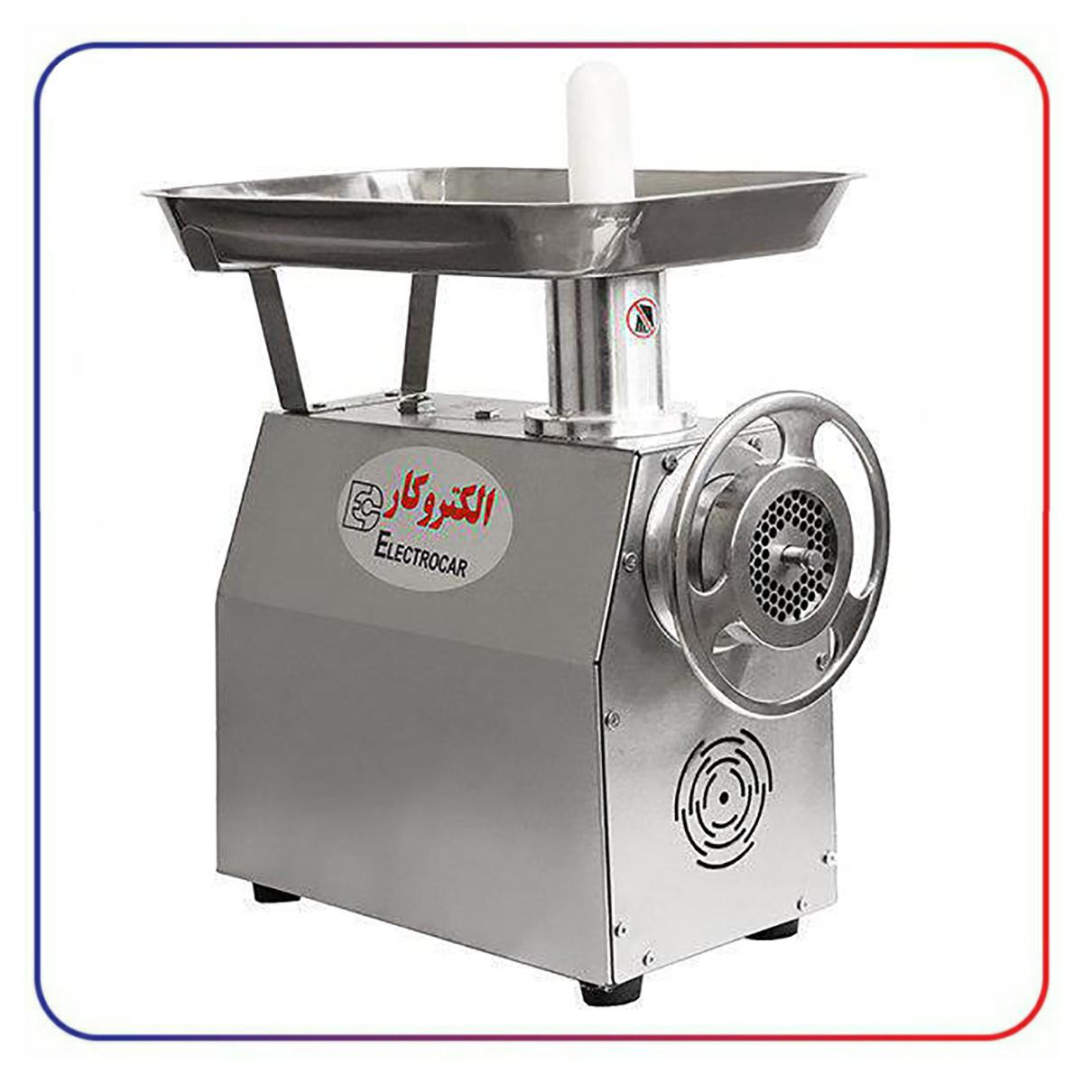 چرخ گوشت الکتروکار 22 استیل مدل EC-18