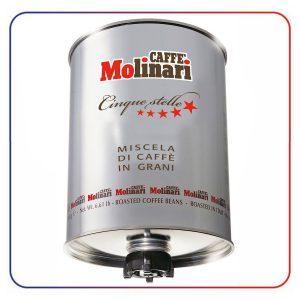 دانه قهوه مولیناری 3 کیلو CAFFE MOLINARI CINQUE STELLE