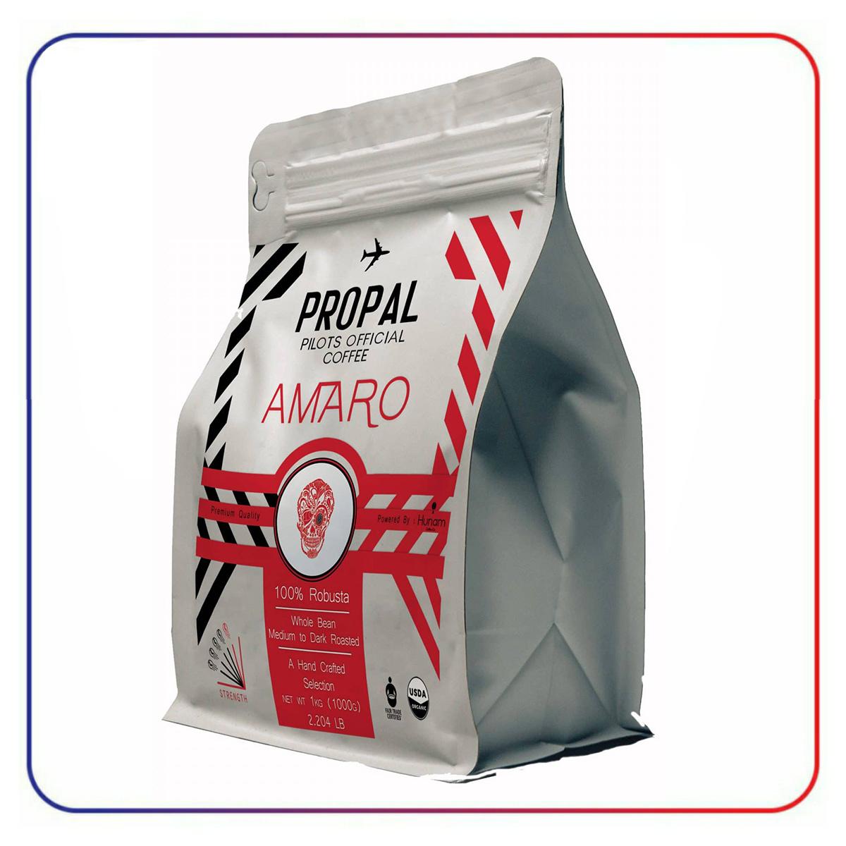 دانه قهوه پروپل آمارو propal Amaro