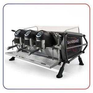 اسپرسو ساز سن رمو کافه ریسر 3 گروپ مولتی بویلر SANREMO CAFE RACER