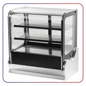 شو کیک شیرینی دیاموند شیشه تخت 3 طبقه 120 سانتی DIAMOND DGA 540 V