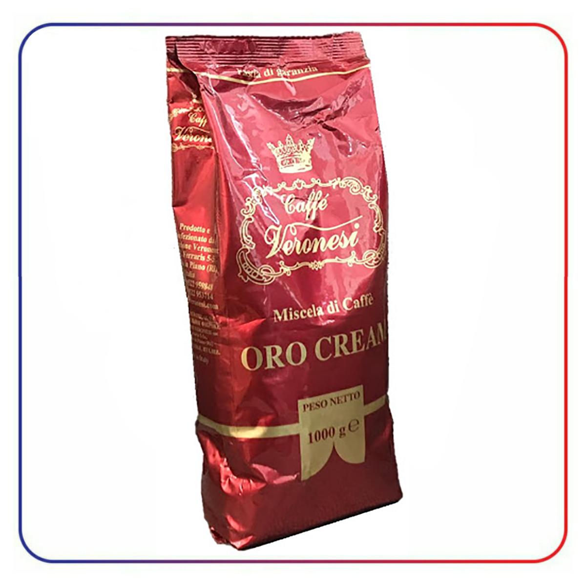 دانه قهوه ورونزی ایتالیا VERONESI ORO CREAM